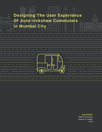 Designing the User Experience of Auto-rickshaw Commuters in Mumbai City