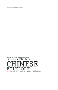 Recovering Chinese Folklore